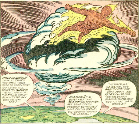 Strange Tales #112, page 10, panel 1