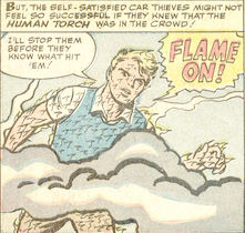 Strange Tales #114, page 3, panel 4