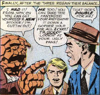 Fantastic Four #21, page 8, panel 2