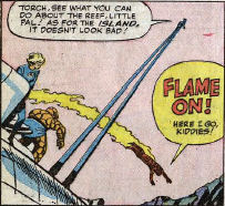Fantastic Four #22, page 9, panel 3