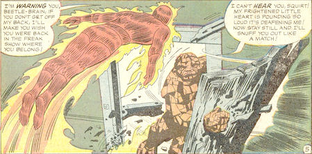 Strange Tales #116, page 5, panel 5