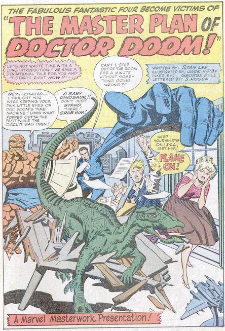Fantastic Four #23, page 1