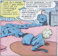 Fantastic Four #23, page 14, panel 3