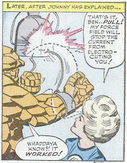 Fantastic Four #23, page 18, panel 2