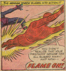 Strange Tales #117, page 12, panel 6