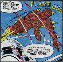 Fantastic Four #24, page 14, panel 5