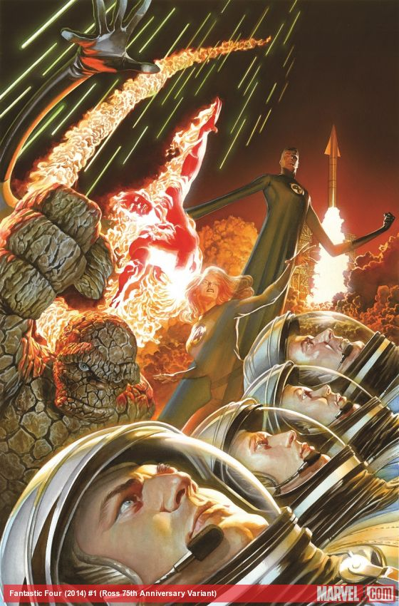 Alex Ross Fantastic Four Cover