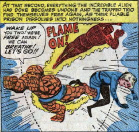 Fantastic Four #24, page 22, panel 4