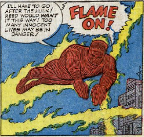 Fantastic Four #25, page 7, panel 7