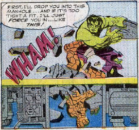 Fantastic Four #25, page 14, panel 6