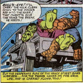 Fantastic Four #25, page 16, panel 3