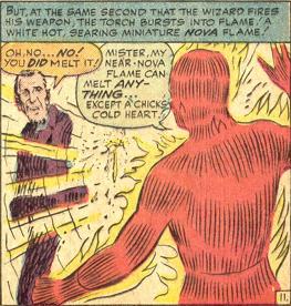 Strange Tales #118, page 11, panel 6