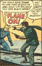 Strange Tales #119, page 11, panel 6