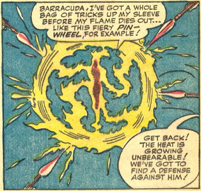 Strange Tales #120, page 9, panel 9