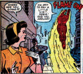 Strange Tales #121, page 6, panel 1