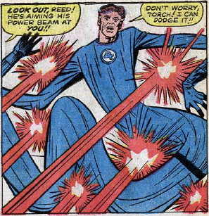 Fantastic Four #28, page 7, panel 2