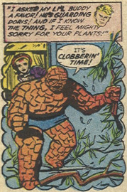 Strange Tales #121, page 14, panel 1