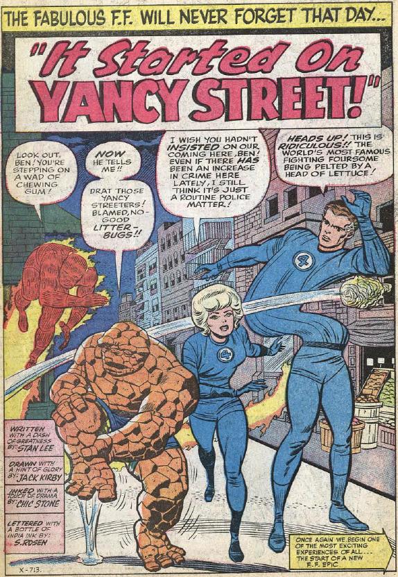 Fantastic Four #29, page 1