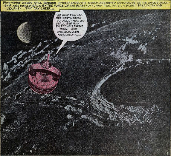 Fantastic Four #29, page 11, panel 3