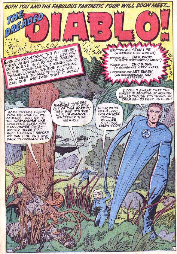 Fantastic Four #30, page 1