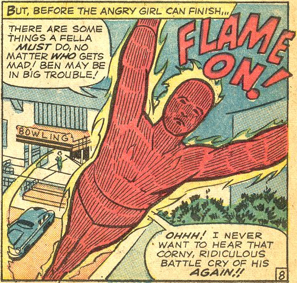 Strange Tales #124, page 8, panel 6