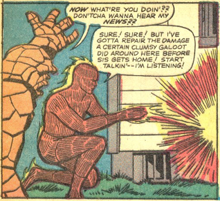 Strange Tales #124, page 3, panel 1