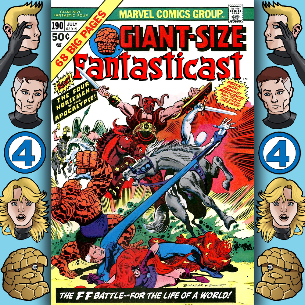 The Fantasticast Episode 190