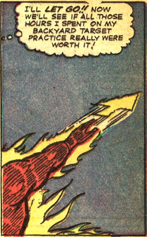 Strange Tales #124, page 13, panel 3