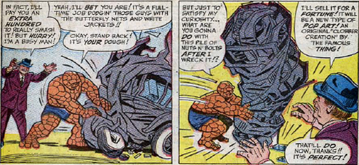 Fantastic Four Annual #2, page 3, panels 4-5