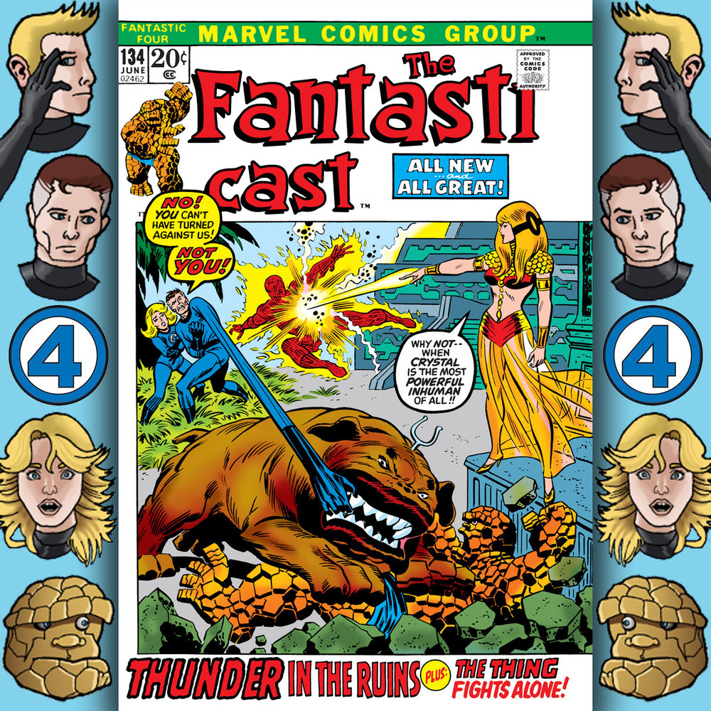 The Fantasticast Episode 134