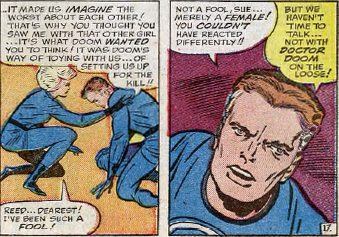 Fantastic Four Annual #2, page 17, panels 6-7