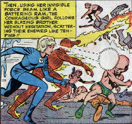 Fantastic Four #31, page 17, panel 3