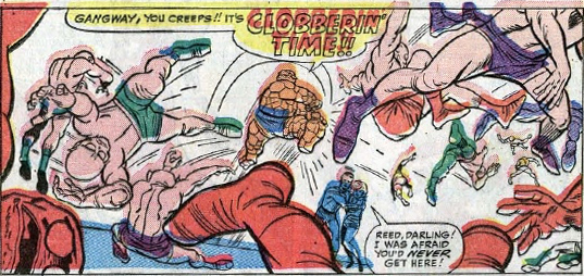 Fantastic Four #31, page 18, panel 3