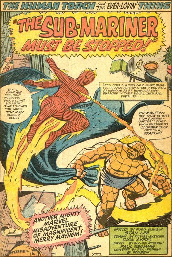 Strange Tales #125, page 1