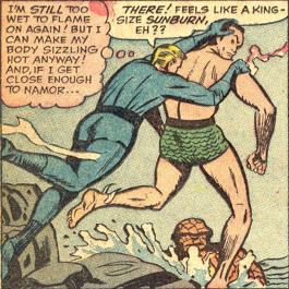 Strange Tales #125, page 11, panel 4