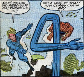 Fantastic Four #33, page 10, panel 5