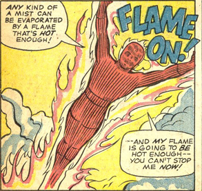Strange Tales #127, page 10, panel 5