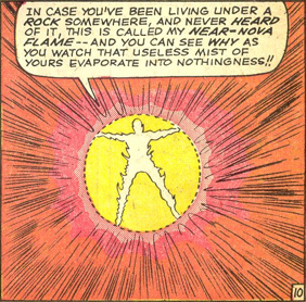 Strange Tales #127, page 10, panel 6