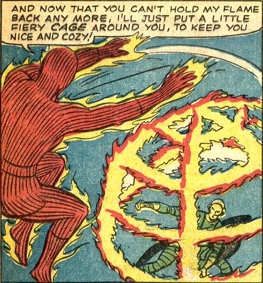 Strange Tales #127, page 11, panel 1