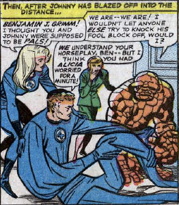 Fantastic Four #34, page 3, panel 2
