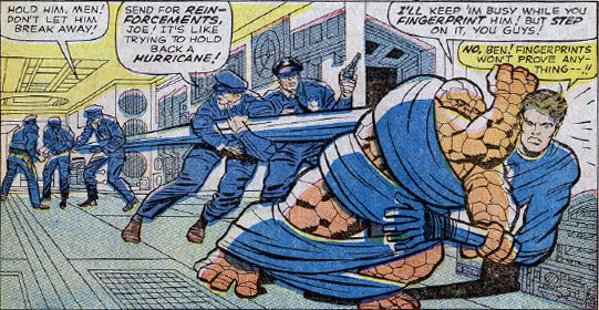 Fantastic Four #34, page 7, panel 1