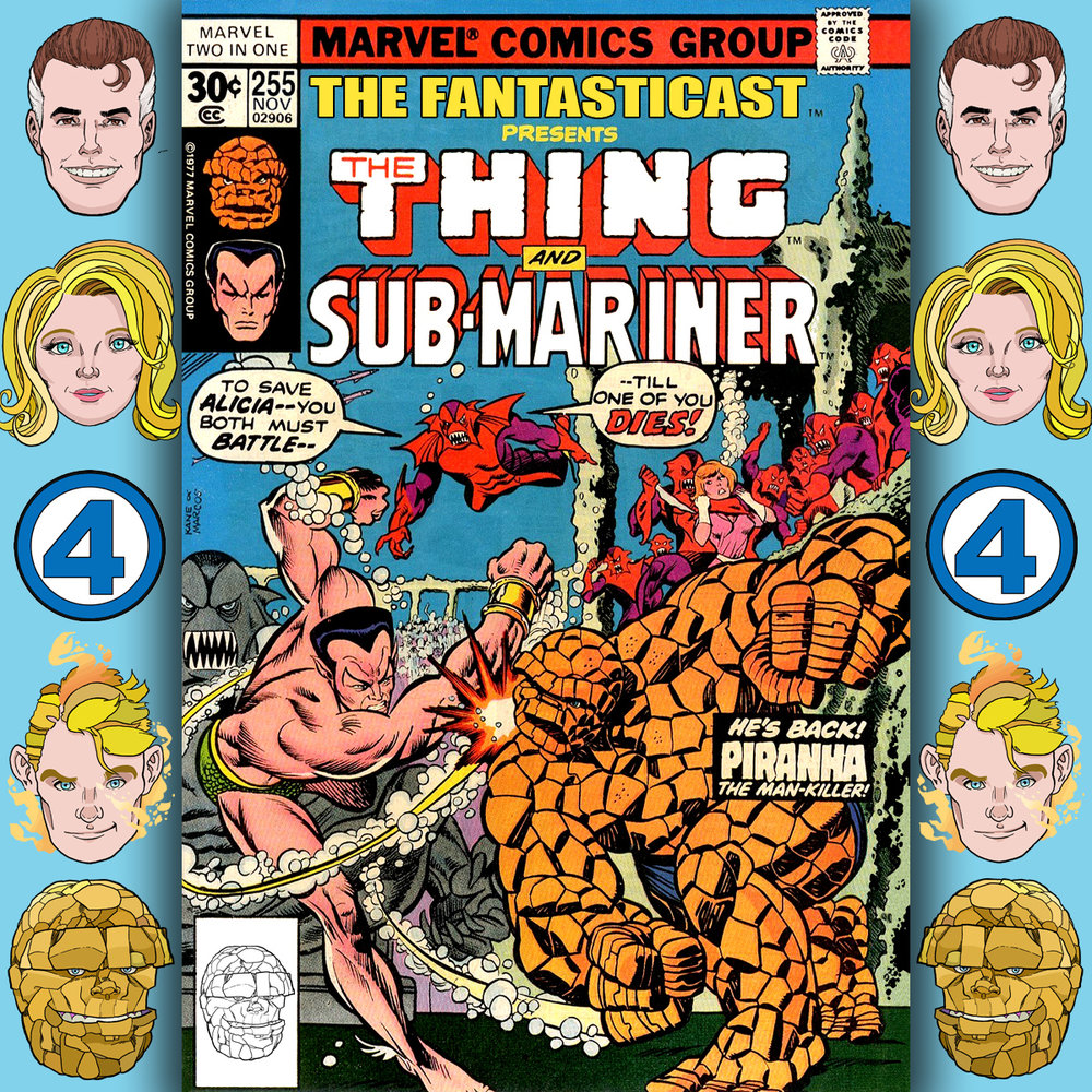 The Fantasticast Episode 255