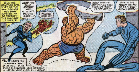 Fantastic Four #34, page 12, panel 1