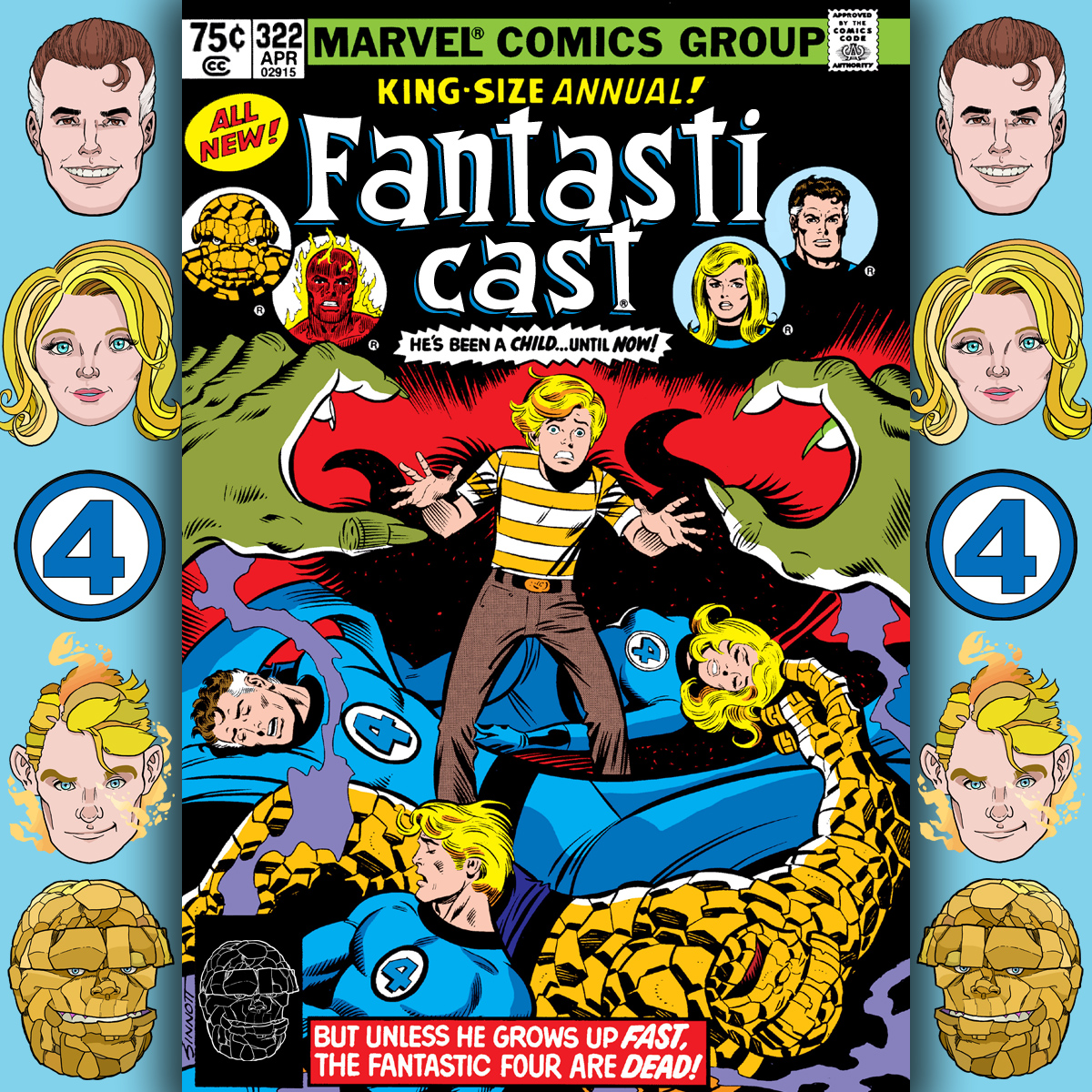 The Fantasticast Episode 322: Fantastic Four Annual #14 - Cats-Paw