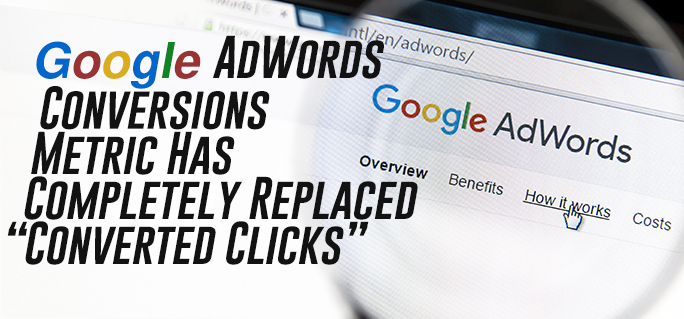 Google Adwords Conversions Metric