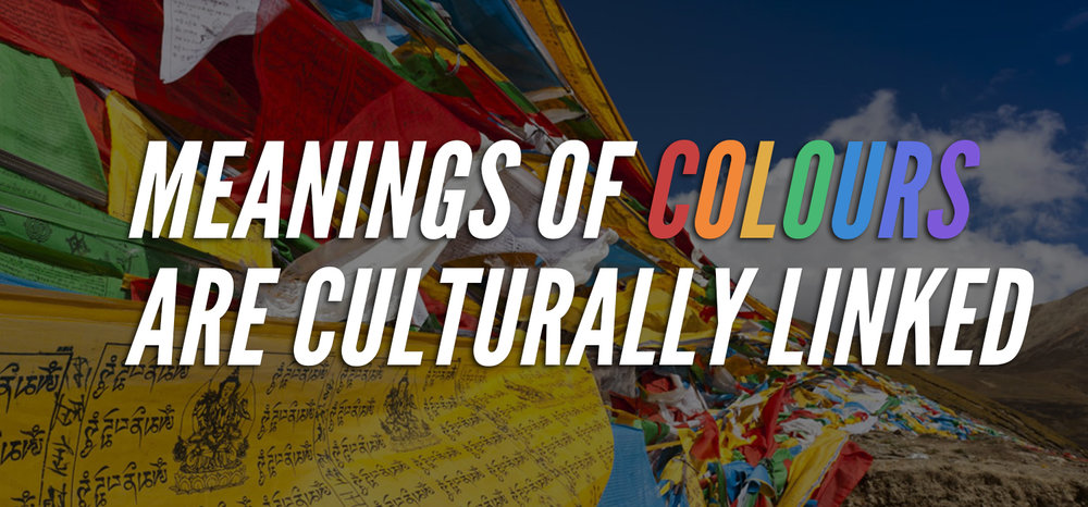 Meanings of Colours are Culturally Linked
