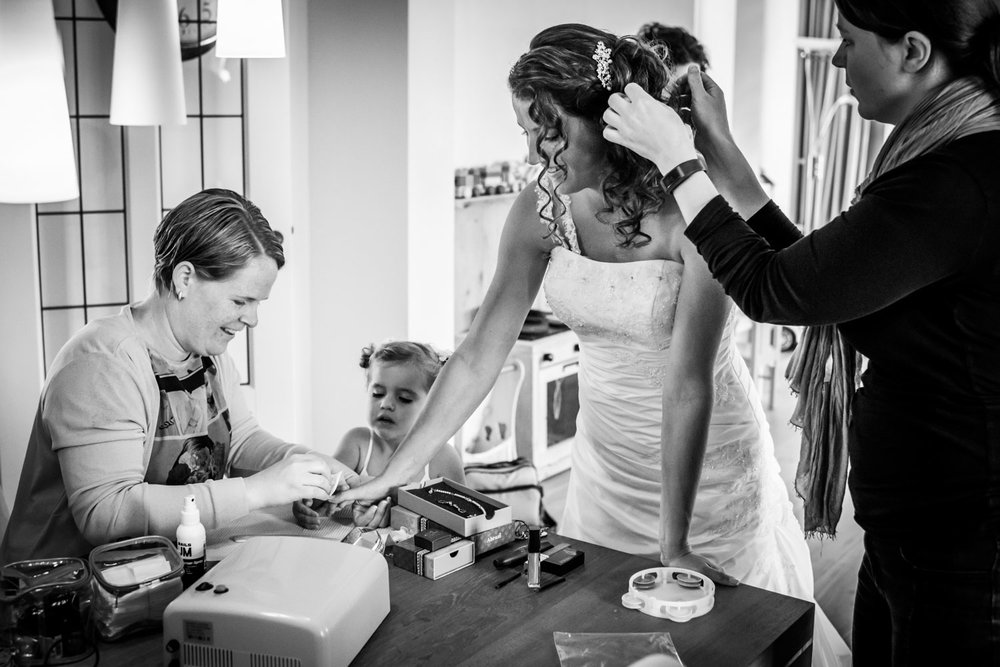 trouwfotograaf met kinderen Fijnaart