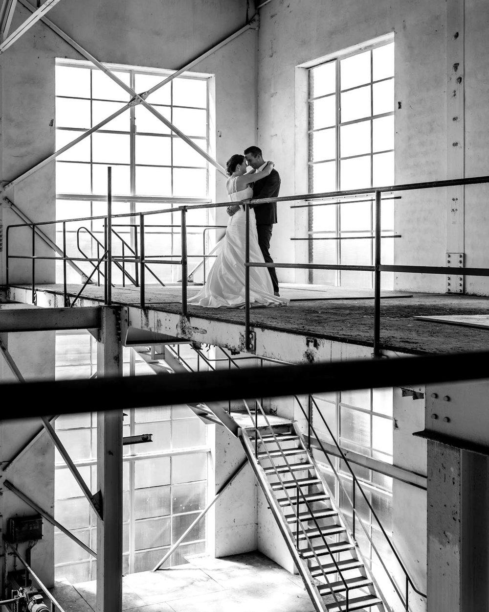 oude suikerfabriek trouwfotografie zevenbergen