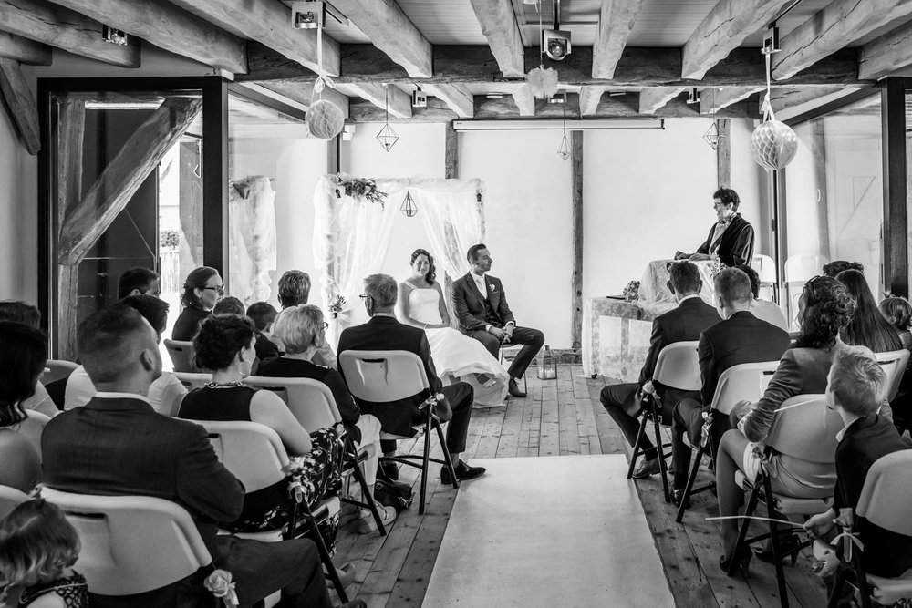 ceremonie trouwfotografie landgoed ulvenhart