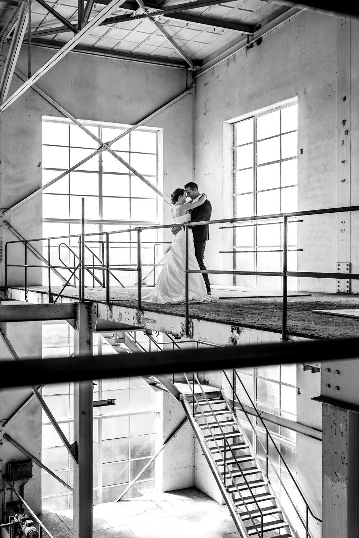 Bruidsfotografie suikerfabriek zevenbergen voor jullie huwelijksreportage